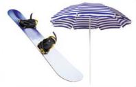 スキー用具等の季節用品の収納